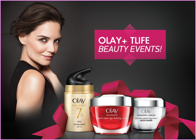 OLAY BEAUTY EVENT! Έλα να περάσουμε ένα Σάββατο γεμάτο ομορφιά και δώρα με την Olay!