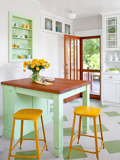 Διακόσμηση κουζίνας 2016: Τα χρώματα που θα την ανανεώσουν!