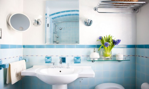 a81eed997cf8 Διακόσμηση μπάνιου  Ράφια πάνω από την τουαλέτα! - TLIFE