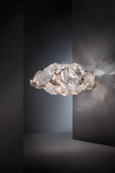 """slamp 4 - Τα """"κρυστάλλινα"""" φωτιστικά από το πιο εύκαμπτο υλικό που θα σε ενθουσιάσει - φωτιστικό, φωτα, deco"""