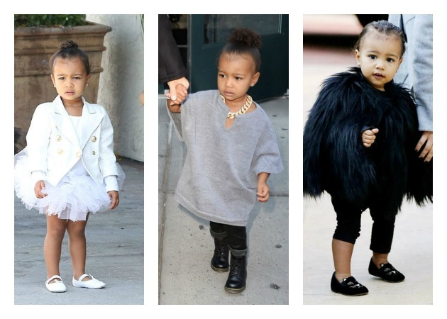 North West: Η κόρη της Kim Kardashian... mini fashion icon για το 2015!
