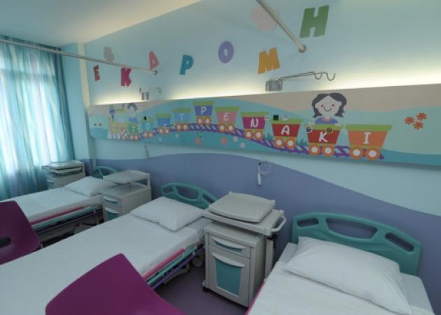 Η νέα εικόνα που αποκτούν τα δύο νοσοκομεία παίδων μέσα από τα έργα του ΟΠΑΠ