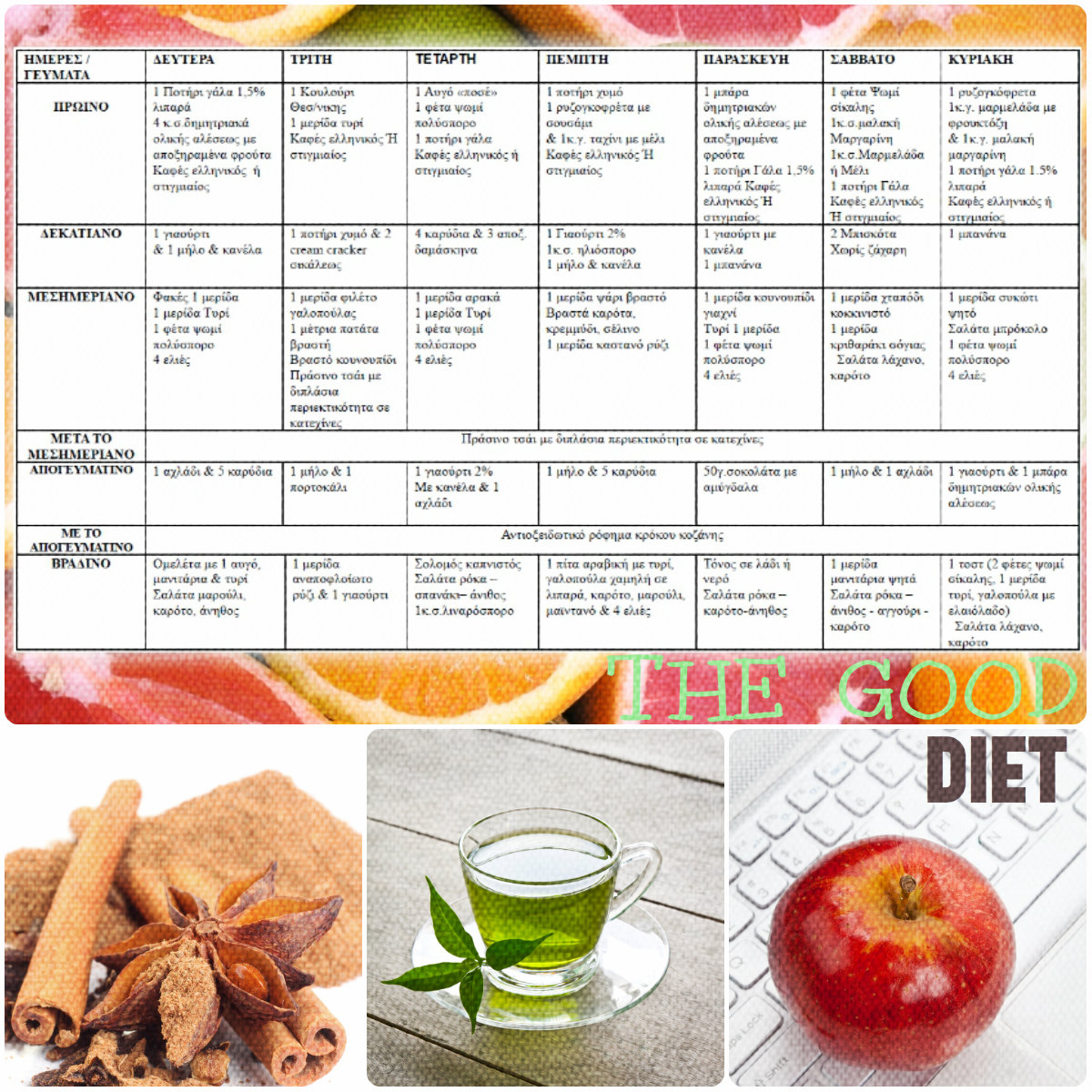 ΟΔΗΓΙΕΣ ΓΙΑ ΝΑ ΠΙΑΣΕΙ ΤΟΠΟ Η ΔΙΑΙΤΑ Το διατροφολόγιό σου είναι απόλυτα  ισορροπημένο σε αναλογία θρεπτικών συστατικών και καλύπτει επαρκώς τις  διατροφικές ... 7ebe6f5a655