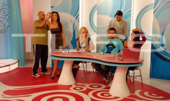 Backstage από την εκπομπή ''TV Weekend''!