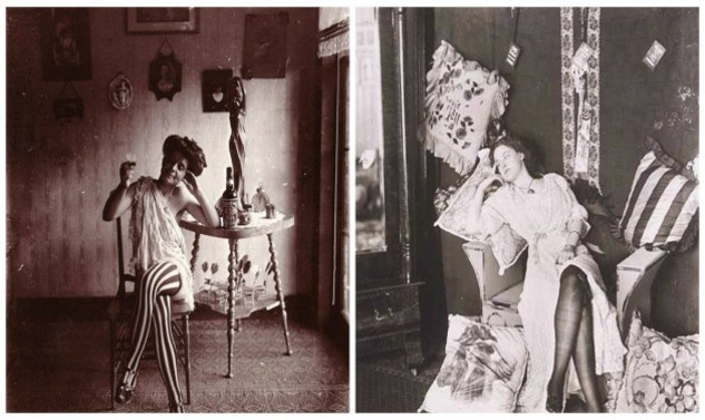 Ρετρο φωτογραφιες με ιεροδουλες απο την Ν. Ορλεανη του 1912