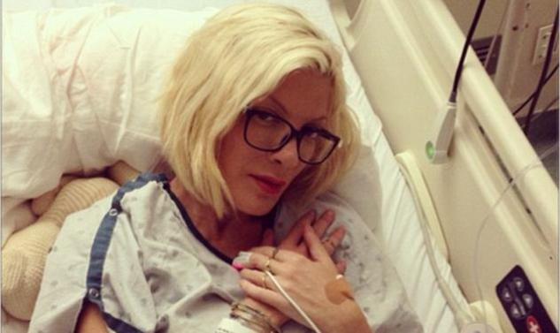 Tori Spelling: Η φωτογραφία μέσα από το νοσοκομείο και η αποκάλυψη για το γάμο της!