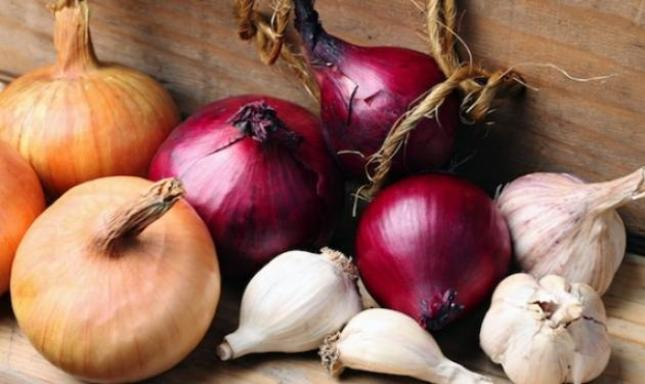 Αποτέλεσμα εικόνας για κρεμμύδια σκόρδα