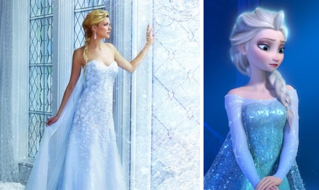 Γάμος σαν παραμύθι! Νυφικά εμπνευσμένα από 7 ηρωίδες του Disney