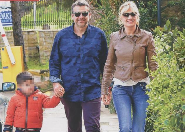 Γιώργος Λιάγκας - Φαίη Σκορδά: Ο γιος τους σε ρόλο easy rider! Φωτογραφίες