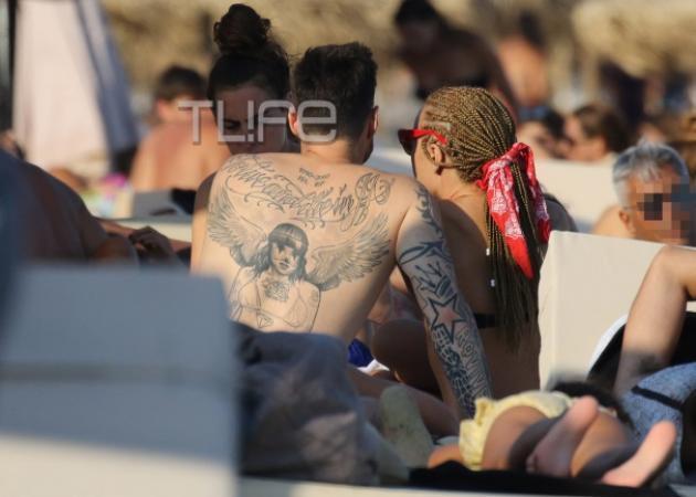 Πάρης Κασιδόκωστας: Το άγνωστο τατουάζ στη μνήμη του παππού του Γιάννη Λάτση! Φωτό