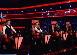 The Voice: Το TLIFE στα γυρίσματα του τελευταίου επεισοδίου των blind auditions [pics]