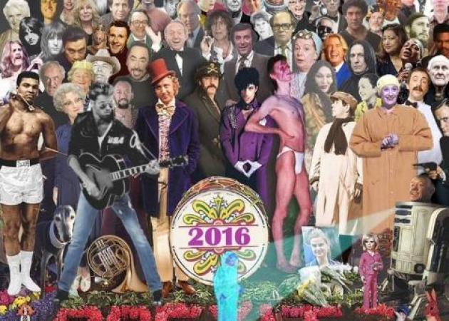 Συγκλονιστική εικόνα: Όλοι όσοι πέθαναν μέσα στο 2016 σε ένα πόστερ