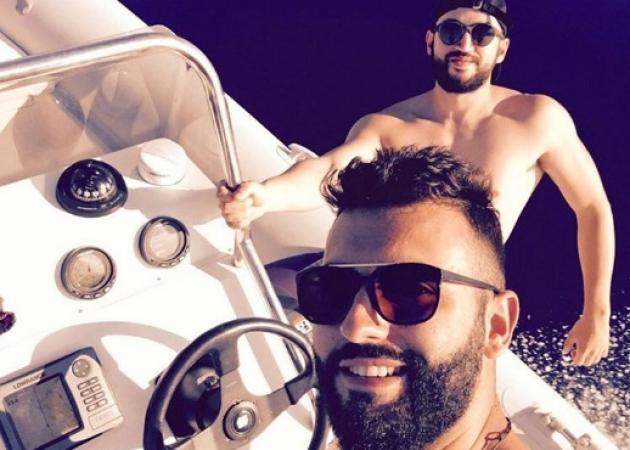 Θοδωρής Μισόκαλος: Περνά και μόνος του καλά! Βόλτες με το σκάφος στο Αιγαίο!