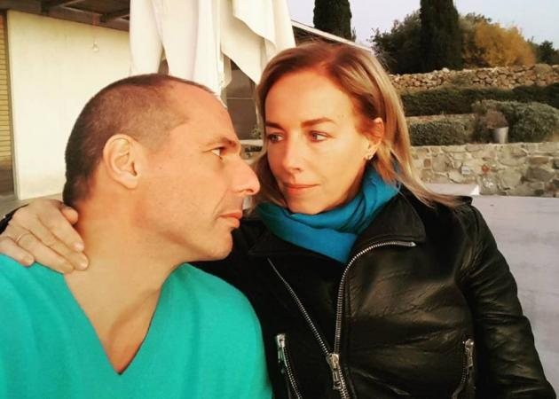 Γιάνης Βαρουφάκης - Δανάη Στράτου: Επιστροφή στην Αθήνα!