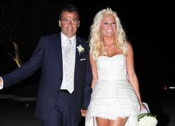 Φαίη Σκορδά - Γιώργος Λιάγκας: Από τον λαμπερό γάμο στον χωρισμό! [pics vid]