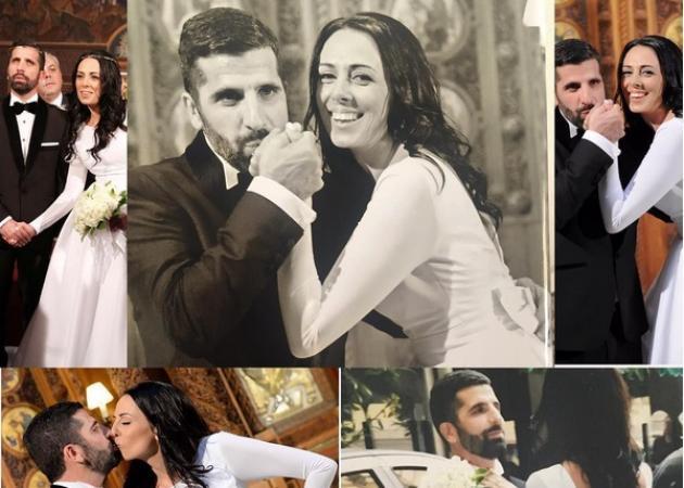 Θανάσης Βισκαδουράκης - Κατερίνα Γιώτα: Το τρύφερο βίντεο για την πρώτη επέτειο του γάμου τους!