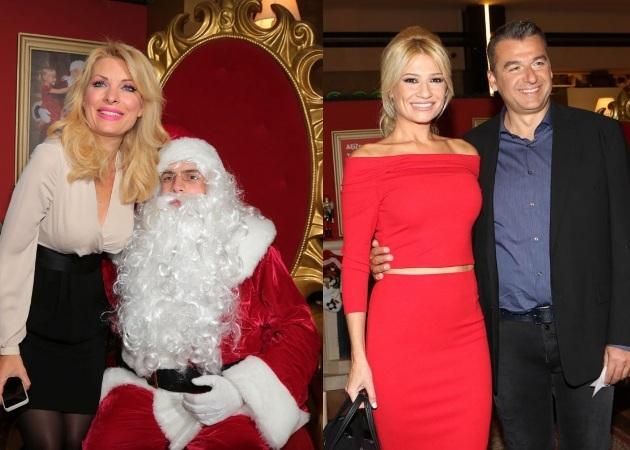 """Ελένη Μενεγάκη - Φαίη Σκορδά: """"Πόλεμος"""" για το χριστουγεννιάτικο δέντρο γνωστού εμπορικού κέντρου"""