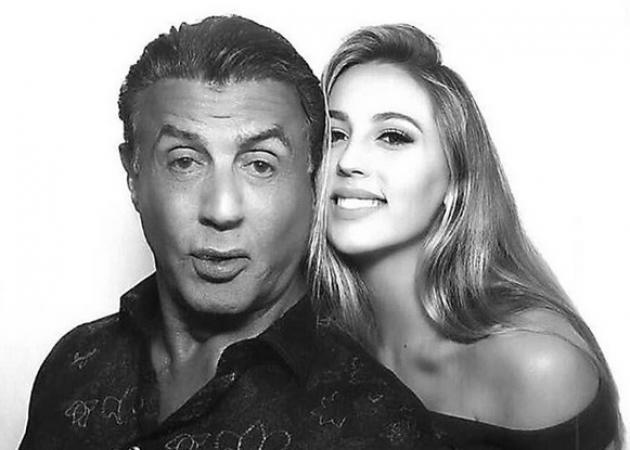 Όταν ο Sylvester Stallone κάνει έλεγχο στην κούκλα... κόρη του! [vid]