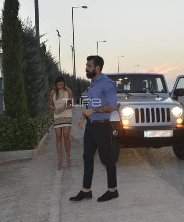 Δημήτρης Αλεξάνδρου - Όλγα Φαρμάκη: Η πρώτη επίσημη εμφάνιση στον γάμο του Μαρακάκη!