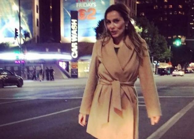 Δέσποινα Βανδή: Περπατάει στους δρόμους του Λος Άντζελες! Βίντεο