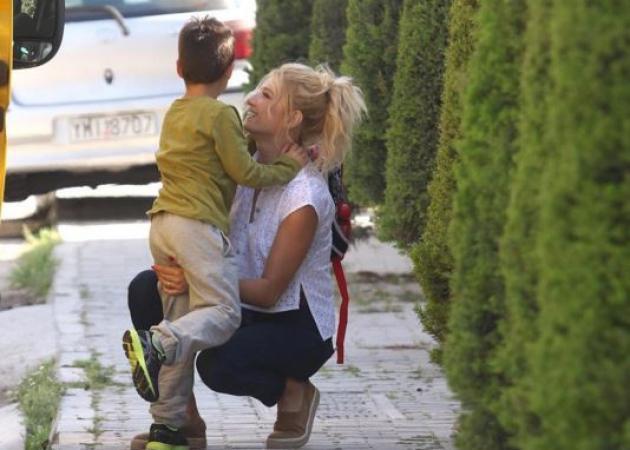 Φαίη Σκορδά: Η πιο γλυκιά ευχή για τα γενέθλια του γιου της! [pic]