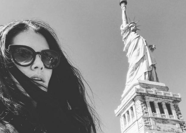 Μαρία Κορινθίου: Οι φωτογραφίες από τις διακοπές της στη Νέα Υόρκη!