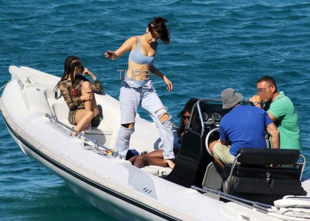 Bella Hadid - Kendall Jenner: Νέες φωτογραφίες τους από τις διακοπές τους στην Μύκονο! [pics,vid]