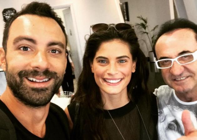 Σάκης Τανιμανίδης – Χριστίνα Μπόμπα: Τυχαία συνάντηση με τον... Λευτέρη Πανταζή στο αεροδρόμιο! [pics]