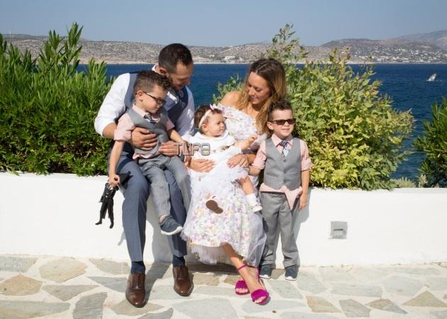 7e8d398db304 Καλομοίρα - Γιώργος Μπούσαλης  To album της βάφτισης της κόρης τους!