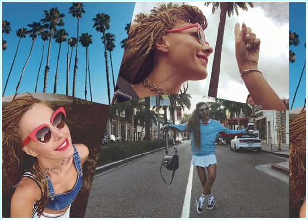 Τάμτα: Με στιλ super model, στους δρόμους του Los Angeles! [pics]