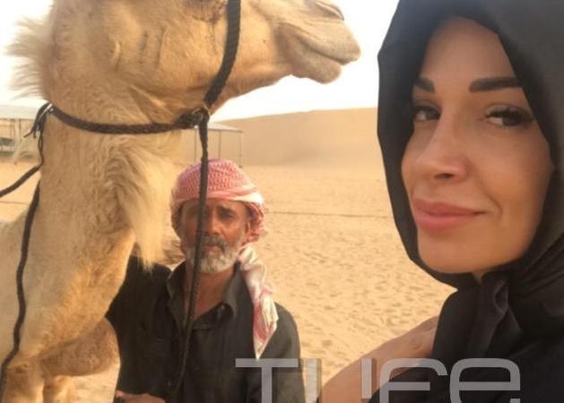 Ελένη Χατζίδου: Το εντυπωσιακό ταξίδι στο Nτουμπάι και ο χορός με τον δημιουργό του Despacito! [pics,vid]