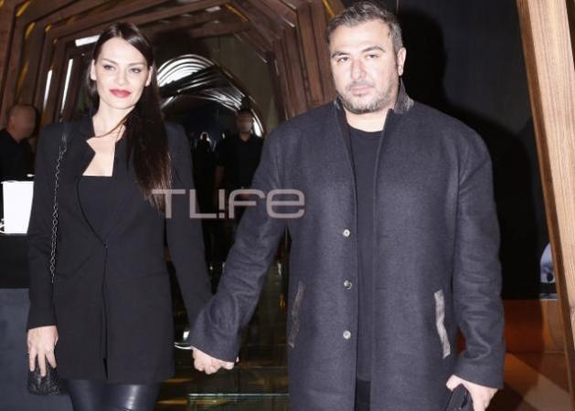Αντώνης Ρέμος - Υβόννη Μπόσνιακ: Βραδινή έξοδος για το ζευγάρι!