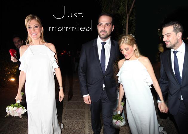 fe67909e12f4 Οι χλιδάτοι γάμοι των Ελλήνων διάσημων που έγιναν μέσα στο 2016! Φωτογραφίες