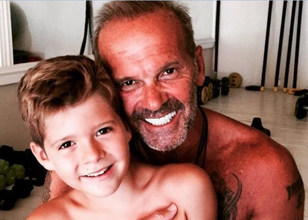Πέτρος Κωστόπουλος: Πέρασε την Κυριακή με το γιο του Μάξιμο