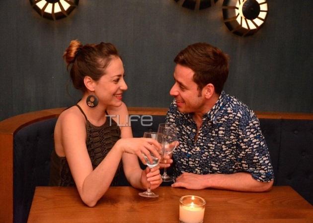 Αλεξάνδρα Ούστα – Γιάννης Σαρακατσάνης: Ρομαντικό δείπνο για το ερωτευμένο ζευγάρι! [pics]
