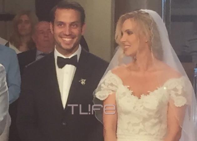 Χριστίνα Αλούπη: Ο λαμπερός γάμος και η βάφτιση του γιου της στη Θεσσαλονίκη! Φωτογραφίες