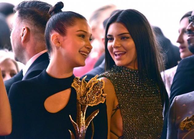 Η Bella Handid και η Κendall Jenner σε πάρτι στη Μύκονο! video