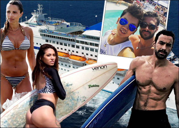 Survivor: Ο Σάκης Τανιμανίδης και οι πρώην παίκτες κάνουν διακοπές μαζί! [pics,vid]