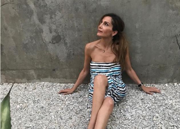 Δέσποινα Βανδή: Συνδυάζει διακοπές και συναυλίες στην Κρήτη! [pics]