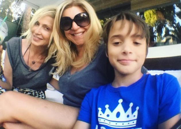 Χριστίνα Πολίτη: Γιόρτασε τα γενέθλια του γιου της Άλεξ με τον πρώην σύζυγό της και την Άννα Βίσση!