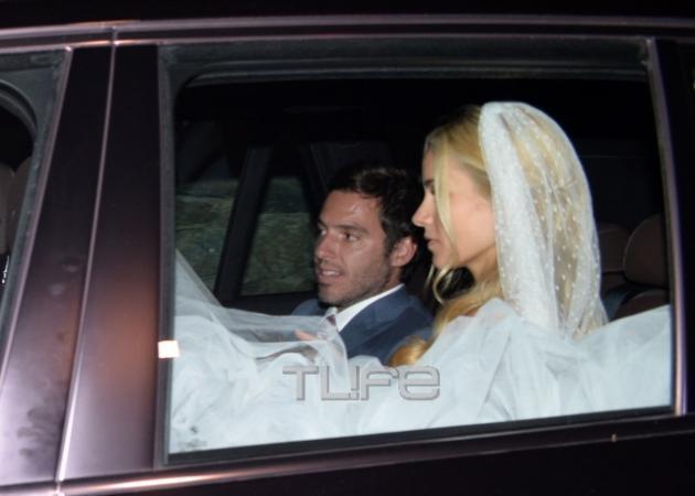 Δούκισσα Νομικού - Δημήτρης Θεοδωρίδης: Ο λαμπερός γάμος τους στη Μύκονο! [pics,vids]