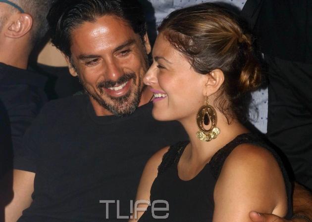 Δέσποινα Καμπούρη – Βαγγέλης Ταρασιάδης: Ερωτευμένοι σε βραδινή τους έξοδο! [pics]