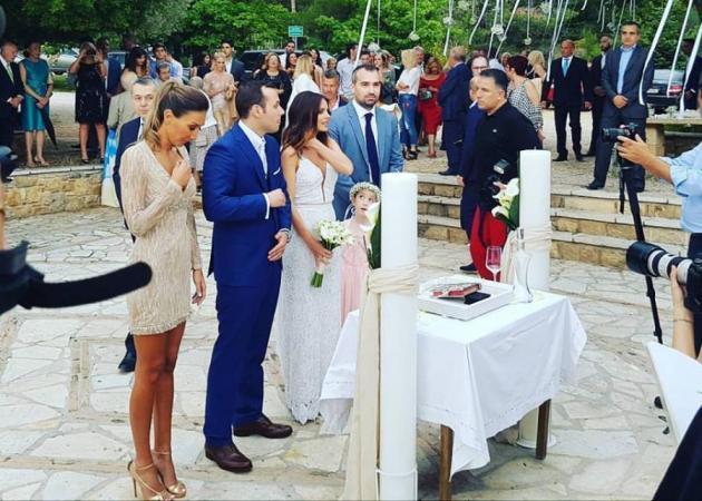 Eλένη Καρποντίνη - Βασίλης Λιάτσος: Οι πρώτες φωτογραφίες του γάμου τους!
