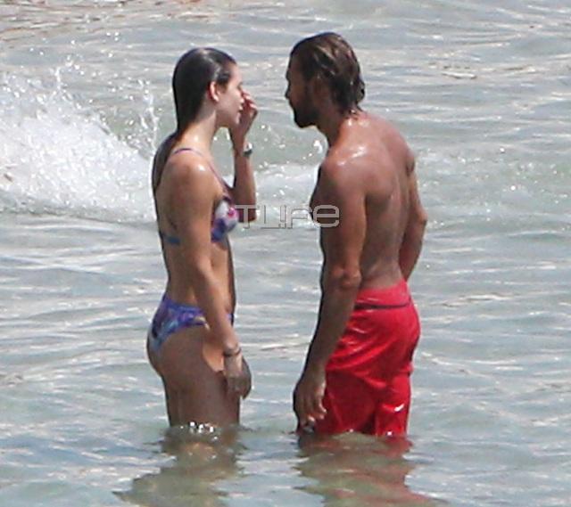 marakakis5 - Γιάννης Μαρακάκης - Νίκη Θωμοπούλου: Love and married στην παραλία!