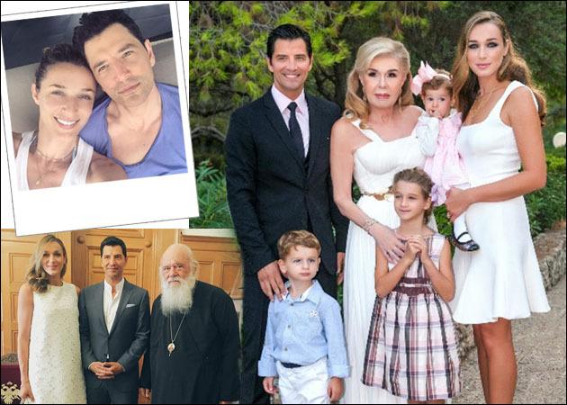 Σάκης Ρουβάς - Κάτια Ζυγούλη  Ο λαμπερός γάμος με παρανυφάκια τα ... 2def60eabf0