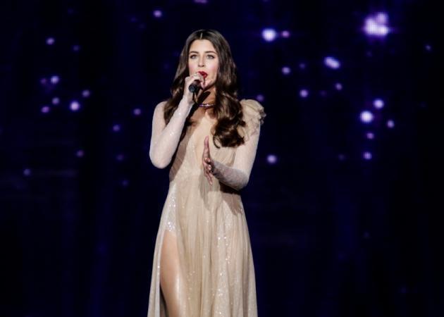 Eurovision 2017: Εντυπωσιακή εμφάνιση της Demy στην πρώτη πρόβα της! [pics,vids]