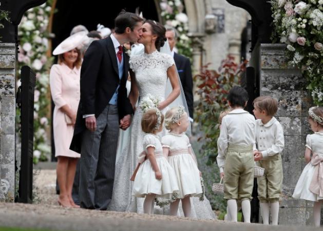 Ο... βασιλικός γάμος της Pippa Middleton! Φωτογραφίες