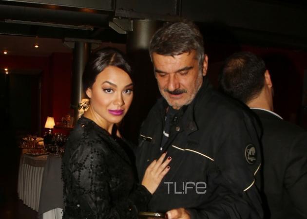 Πηνελόπη Πλάκα - Κώστας Αποστολάκης: Αγκαλιές και φιλιά για το πρώην ζευγάρι! [pics,vid]