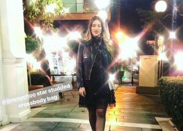 Αθηνά Οικονομάκου: Η βραδινή έξοδος για τη γιορτή του συντρόφου της και η έκπληξη που ετοιμάζει! [vids]