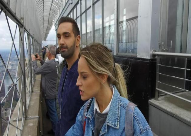 Ο Νίκος Κοκλώνης ξεναγεί τον Δημήτρη Ουγγαρέζο και την Ιλένια Ουίλιαμς στη Νέα Υόρκη
